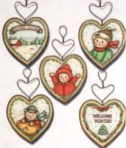 Bears & Welcome Winter Ornaments