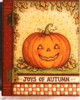 Pumpkin Book Box