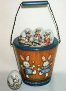 Bunny Bucket & Seasonal Bunny Eggs