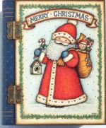 Santa on Book Box